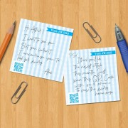 'Visit JW.org' sticky notes