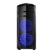 Carcasa X2 Spitzer 20, Full Tower, neagra, fara sursa