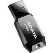 USB Flash Drive ADATA Slim Bevelled UV100 32Gb USB 2.0 Black