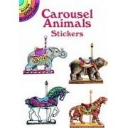 Carousel Animals Stickers by Judy Johnson