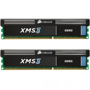Corsair CMX8GX3M2A1600C11 XMS3 Memoria per Desktop a Elevate Prestazioni da 8 GB (2x4 GB), DDR3, 1600 MHz, CL11