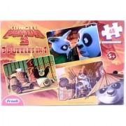 Kung Fu Panda 3 Puzzles in 1 Puzzle Game - 48 Pieces