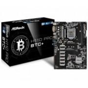 Tarjeta Madre ASRock ATX H110 Pro BTC+, S-1151, Intel H110, USB 3.0, 32GB DDR4, para Intel