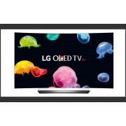 "LED TV LG 55"" OLED55C6V OLED ULTRA HD CURBAT SILVER"