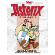 Omnibus: Asterix in Switzerland, The Mansions of the Gods, Asterix & the Laurel Wreath 6 by Rene Goscinny