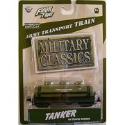 Floor Flyer Army Transport Die-cast Train: The Tanker Military Classics