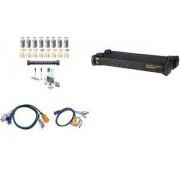 "Aten 19"" Master View max KVM Switch USB / PS/2, 8-fach, 1 HE (CS1758)"