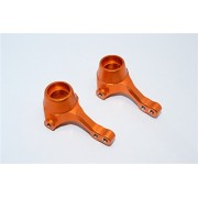 HPI Sport 3 Flux Upgrade Parts Aluminium Front Knuckle Arm - 1Pr Orange