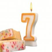 Lumanare aniversara, cifra ''7'', HERLITZ