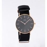 DANIEL WELLINGTON / CLASSIC BLACK コーンウォール/ゴールド 40mm【ビームス メン/BEAMS MEN 腕時計】