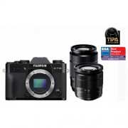 Fuji Fujifilm FinePix X-T10 kit (16-50mm + 50-230mm) fekete