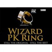 Mms Wizard Pk Ring Original (Flat Gold 16Mm) By World Magic Shop - Trick