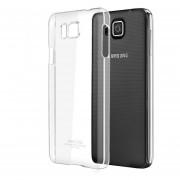 IMAK caso de la cubierta funda ultra delgado claro plástico duro de nuevo para for Samsung Galaxy Alpha G8508S/G8509V (Clear)
