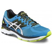 asics GT-2000 4 Shoe Men Blue Jewel/Black/Safety Yellow 48 Running Schuhe