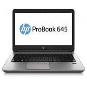 HP ProBook 645 A10-5750M 14.0 4GB/500 PC AMD A10-5750M, 14.0 HD AG LED SVA, UMA, 4GB DDR3 RAM, 500GB HDD, DVD+/-RW, 802.11 a/b/g/n, BT, 6C Battery, FPR, Win 7 PRO 64 w/Win 8.1 Pro LIC, 1yr Warranty