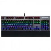 inflictor motospeed CK108 RGB retroiluminacion juego mecanico negro teclado