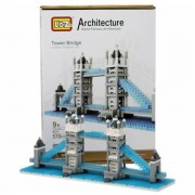 Jucarie de construit Loz Tower Bridge Nano