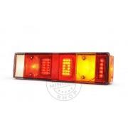 LED hátsó lámpa 7 kamrás jobb 12/24V