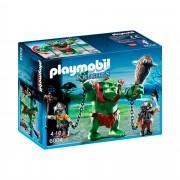 Playmobil Knights 6004 Riesentroll mit Zwergenkämpfern