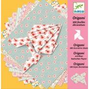Hârtie origami Djeco coli decorative