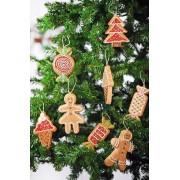 Decorazione di Natale a forma di Biscotti Giganti