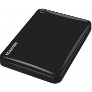 HDD Extern Toshiba Canvio Connect II, 2.5 inch, 1TB, USB 3.0 (Negru)