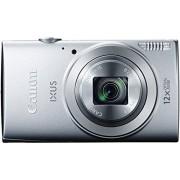 "Canon IXUS 170 Cámara compacta de 20.5 Mp (pantalla de 2.7"", zoom óptico 12x, estabilizador óptico), plateado"