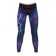 Dome Fitness Hybrid Tights XXS Blue Pink