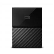 Външен твърд диск Western Digital MyPassport 1TB USB 3.0 Black WDBYNN0010BBK
