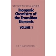 Inorganic Chemistry of the Transition Elements: Volume 1 by B. F. G. Johnson