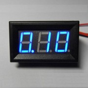Ampermeter Modrý 0-10A