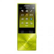 Sony NW-A25 - Walkman con sonido de alta resolución Hi-Res Audio (cancelación de ruido, Bluetooth, NFC, LDAC, 16 GB, hasta 50 horas de batería), amarillo