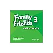 Family and Friends 3 - Audio Class CDs