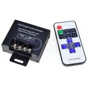Bezdrôtové ovládanie, stmievač a efekty k LED pásiku, 20A