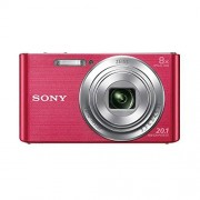 Sony DSC-W830 Fotocamera digitale compatta 20.1MP, 8x zoom ottico, colore: Rosa