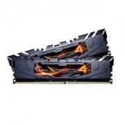 Memorie G.Skill Ripjaws 4 Black 8GB (2x4GB) DDR4 3200MHz CL16 1.35V Intel X99 Ready XMP 2.0 Dual Channel Kit, F4-3200C16D-8GRK