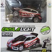 RC Távirányítós autó Onsla 25 km/h 4ch 2,4 GHz 2WD - No.A989