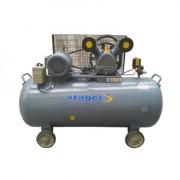 HM-V-0.6/370L Stager Compresor aer industrial , putere motor 4.1 kW , capacitate rezervor 370L