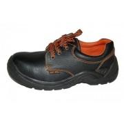 Pantofi cu bombeu metalic