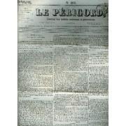 Le Perigord Journal Des Interets Nationaux Et Provinciaux N°203 1844 - Périgueux Louviers Et La Chambre Revue Des Journaux - Les Deux Élèves - Bulletin Des Chambres - M.Lacoste Et M.Meilhan ...