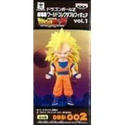 002 Super Saiyan 3 Goku Dragon Ball Z The Movie World Collectable Figure vol.1 DB play (japan import)