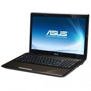 Asus K52JC-EX342V Portatile, Schermo 15.6 Pollici, 2530 MHz, Windows 7 Home Premium, Nero/Marrone