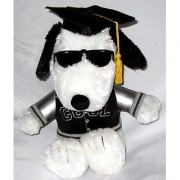 10 Snoopy Joe Cool Graduation Plush