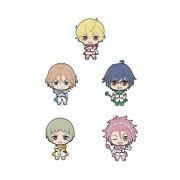 Picktam! Cute High Earth Defense Club Love! Trading Rubber Strap (1 Random)