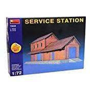 "Miniart 1:72 Scale ""Service Station"" Plastic Model Kit"