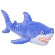 Wild Republic Cuddlekins Vibes Blue Shark Plush