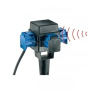 EsyLux Erdspieß integriertem Funkempfänger 3 Steckdosen