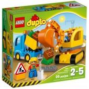10812 Truck & Tracked Excavator