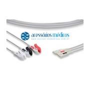 RABICHO 3 VIAS COMPATÍVEL AAMI® LL (NQA-E059) / Registro Anvisa 80787710012 - NQA-E059