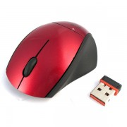 Mouse, Media-Tech Tiny Nano, 2.4G, Red (MT1078R)